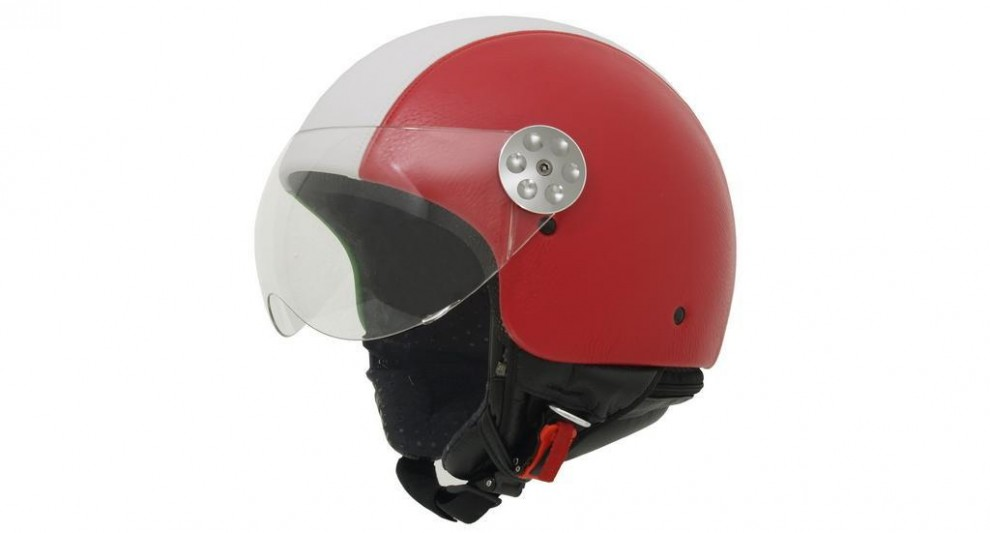 MT Helmet Retro Leather